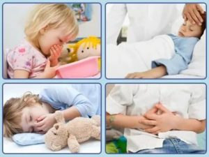 Признаки интоксикации у ребенка