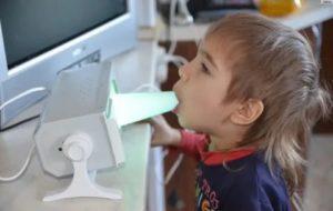 Кварцевание носа и горла детям