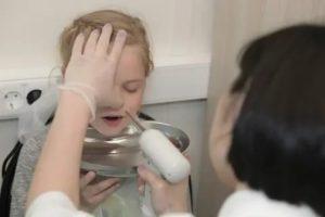 Баня при аденоидах у детей
