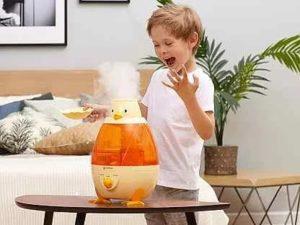 Чем полезен увлажнитель воздуха для детей