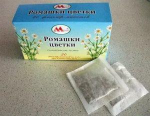 Ромашка от кашля для детей до года