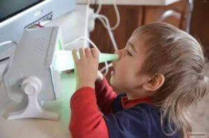 Как часто можно делать кварцевание носа ребенку