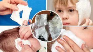 Как сделать водочный компресс ребенку