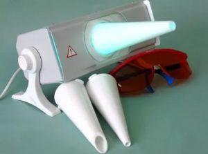 Кварцевая лампа для горла и носа
