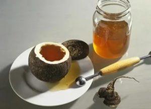 Черная редька с медом от бронхита