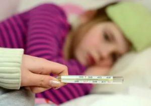У ребенка ночью поднялась температура