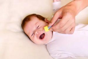 Ребенок не может спать из за соплей