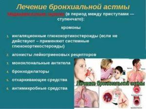 Бронхиальная астма у детей лечение комаровский