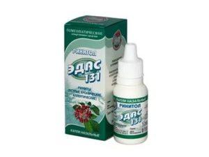 Гомеопатические капли в нос для детей