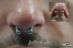 Через сколько зарастает дырка в носу