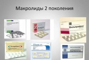 Антибиотики макролиды список для детей