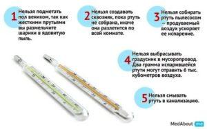 Как нагреть ртутный градусник