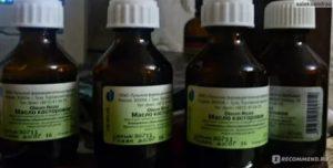 Касторовое масло от кашля детям