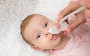 Как вылечить насморк у двухмесячного ребенка