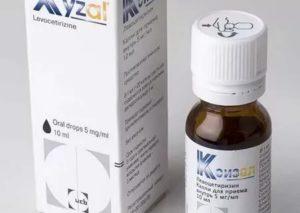 Капли от аллергии для детей до года