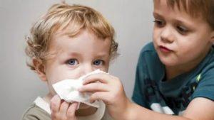 Ребенок давится соплями и кашляет