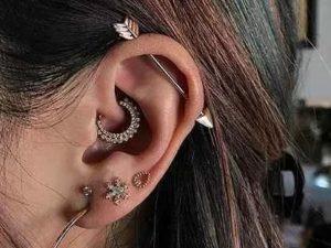 Виды проколов уха