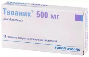 Таваник или левофлоксацин что лучше