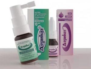 Деринат при аденоидах у детей