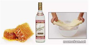 Компресс из водки и мёда