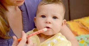 У месячного ребенка температура 38 что делать