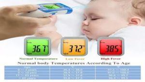 У шестимесячного ребенка температура