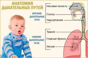 Кашель верхних дыхательных путей у ребенка