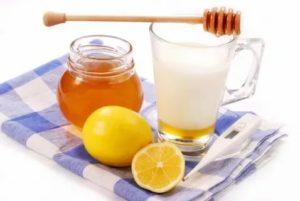 Мёд с лимоном от кашля