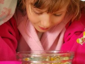 Ингаляции при густых соплях у детей