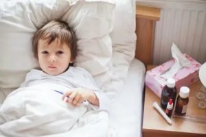 У ребенка болит живот при орви