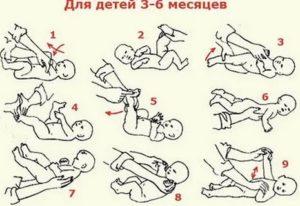 Лфк для детей до года упражнения