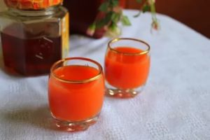 Морковный сок от кашля