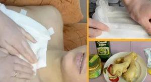 Компресс с димексидом на горло