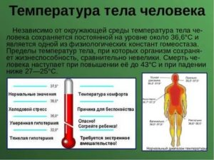 Почему горит тело а температуры нет