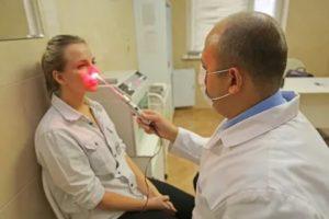 Лечение носа лазером