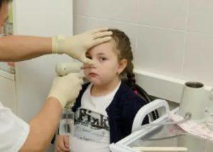Лазеротерапия носа детям