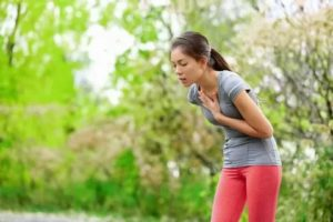 Жжение в легких после бега