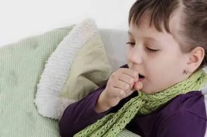 Надсадный кашель у ребенка