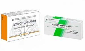 Доксициклин или амоксициллин что лучше