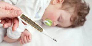 Резкие скачки температуры у ребенка