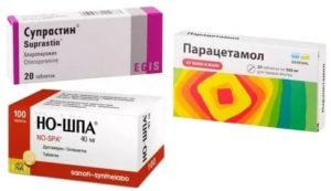 Парацетамол с ношпой от температуры ребенку