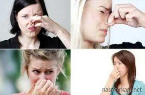 Ощущение неприятного запаха которого нет