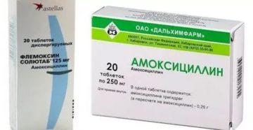 Амоксициллин при воспалении лимфоузлов