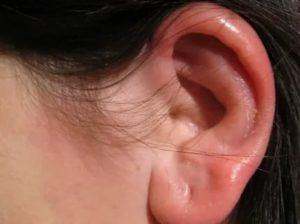 Шишки на ушах у человека