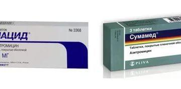 Что лучше сумамед или кларитромицин