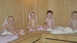 Температура после бани у ребенка