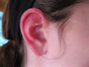 Опухла мочка уха что делать