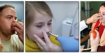 Условиях в домашних продувание носа лечение народными средствами болезни ушей