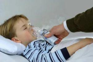У ребенка кашель как будто подавился