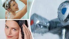 Что будет если помыть голову холодной водой